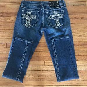 Miss Me Cross Jeans